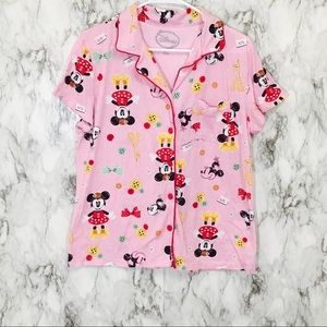 Disney Pink Mickey Mouse Picket T!